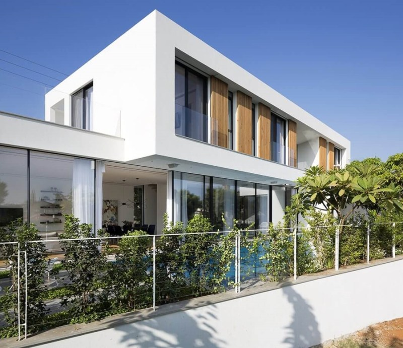 LB House by Shachar Rozenfeld Architects, exterior