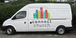 Connect church van