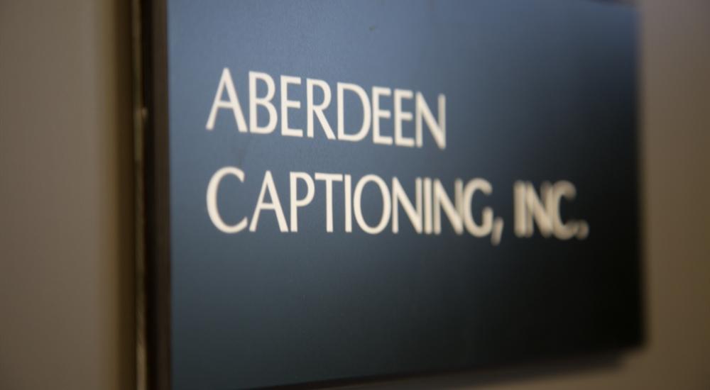 Aberdeen Captioning