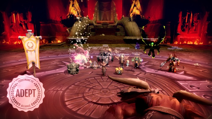 Hello Frostmane, We're in ur raids, killing ur bosses
