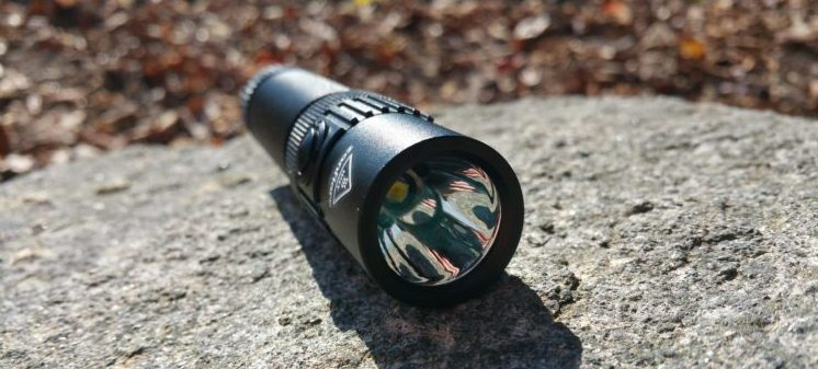 zanflare F1 Cree XPL V6 1240Lm Rechargeable LED Flashlight 7 Modes Waterproof