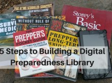 survival, library, preparedness, digital, Kindle, Amazon, ebook, Fire, How To