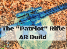 patriot, AR-15, rifle, project, AR, preparedness, SHTF, survival, Rourke