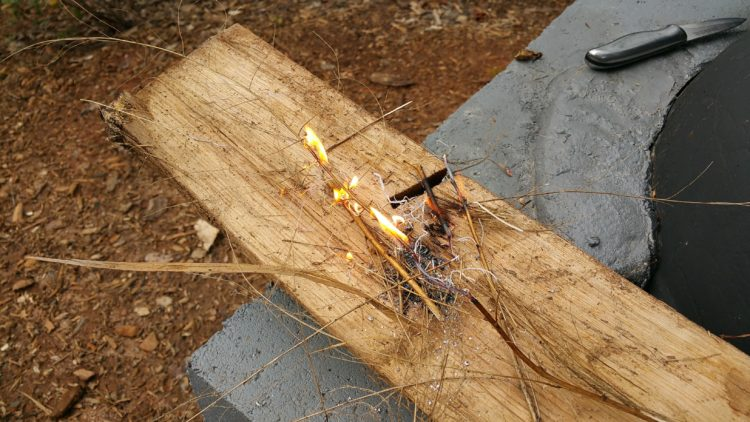 magnesium, fire starter, fire, wilderness, heat., cooking, survival, preparedness, survival kit