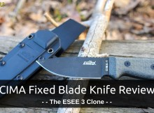 survival knife, CIMA knife, CIMA, fixed blade, Chinese, ESEE 3, ESEE, survival, prepper, EDC, preparedness