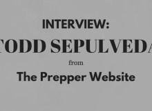 interview, preparedness, SHTF, prepper, prepper website, Todd Sepulveda
