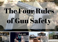 gun safety, firearms, shooting, safety, rules, habits, trigger, four,