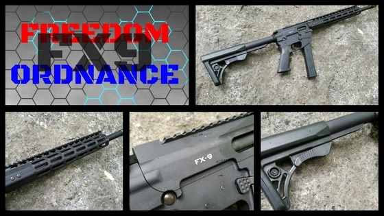 AR-15, AR-9, FX9, 9mm, AR, rifle, carbine, Classic Firearms, Federal Ordnance, SHTF, preparedness