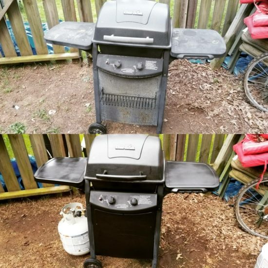 grill, cooking, refurbished, survival,