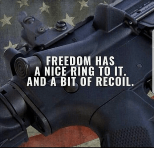 freedom, liberty, recoil, America, USA