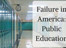 America, school, public education, failure, Liberalism, history