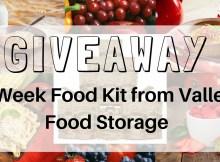 food, food storage, giveaway, prepper, preparedness
