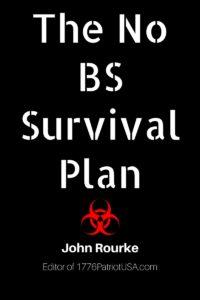 No BS Survival Plan, book, ebook, Kindle, prepper, preparedness,