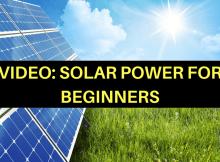 solar system, beginner, video, how to, solar power