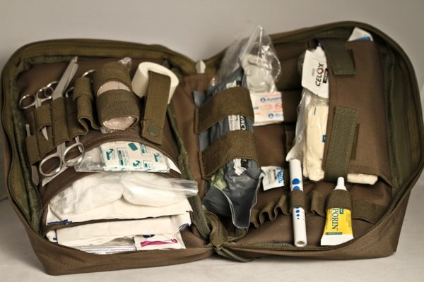 trauma kit, Doom and Bloom, medical kit, prepper, shtf