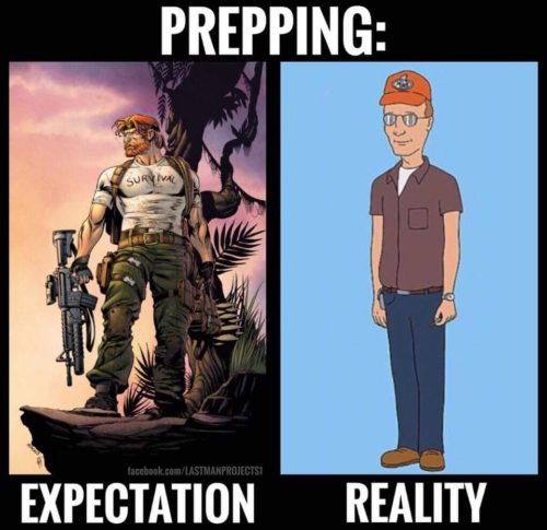 prepper, SHTF, preparedness, survivalist