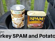 SPAM, potato, food storage, prepper, SHTF,