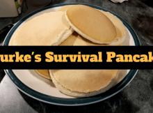 survival, SHTF, prepper, preparedness, pancakes, food storage, Rourkes survival pancakes