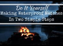 making waterproof matches, fire starting, survival, fire, survuval kit, survival, prepper, preparedness