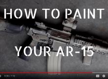 PAINTING AN ar-15, HOW TO, ar-15, shtf, CAMO, PREPPER, PREPAREDNESS
