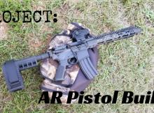 AR, AR-15, project, SHTF, survival, prepper, preparedness, AR pistol, AR pistol project