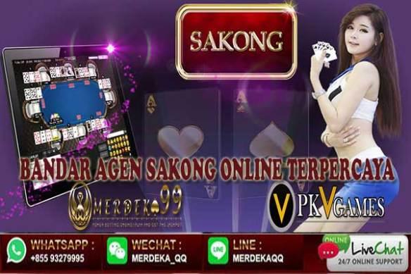 Bandar Agen Judi Sakong Online Terpercaya