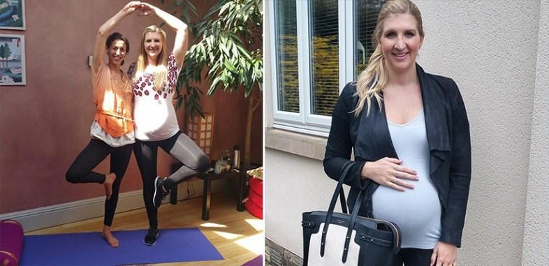 Becky Adlington - Training and Pregnancy