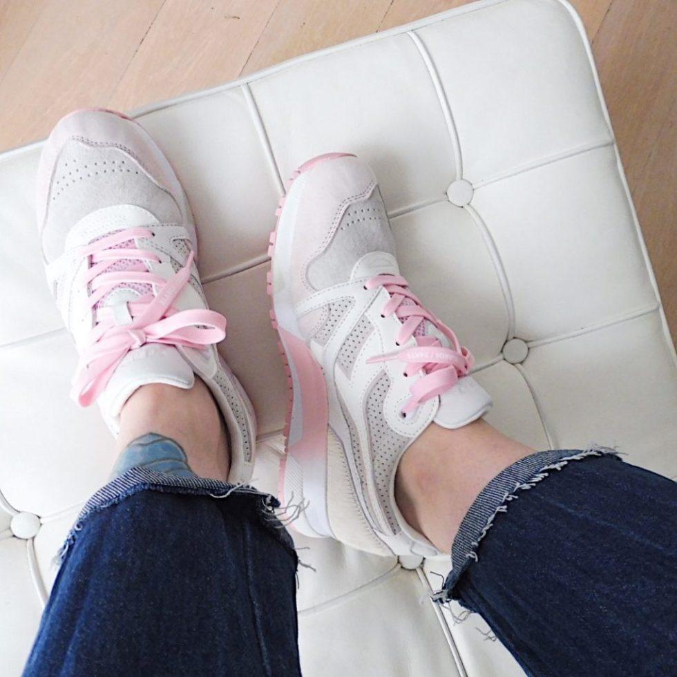 Matilda Anton sneakers and diadora