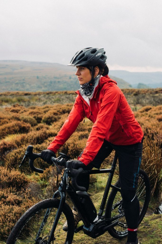 Raleigh Electric Bike – woman cycling in country