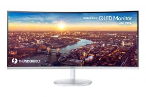 Samsung CJ791 Curved Thunderbolt 3 Monitor