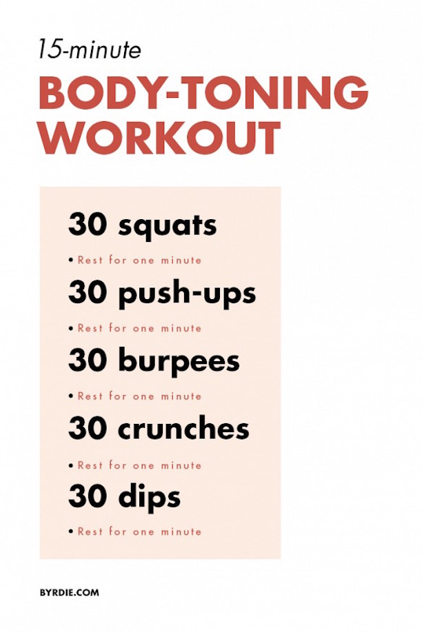15-Minute Workout