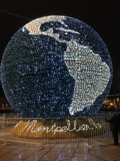 Montpellier in Christmas time