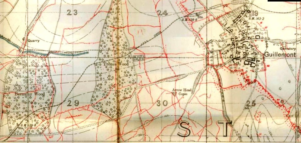 Guillemont Defences late July 1916