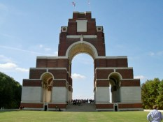 Thiepval Memorial Courtesy CWGC