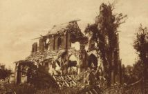 Ruins of Frise Church 1918
