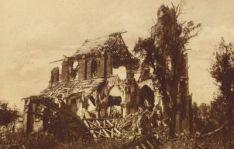 Ruins of Frise Church 1918