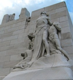 Detail of Statues on Vimy Memorial