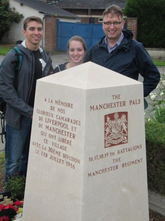 A Manchester Pal's Grandson, Grandaughter and her chap