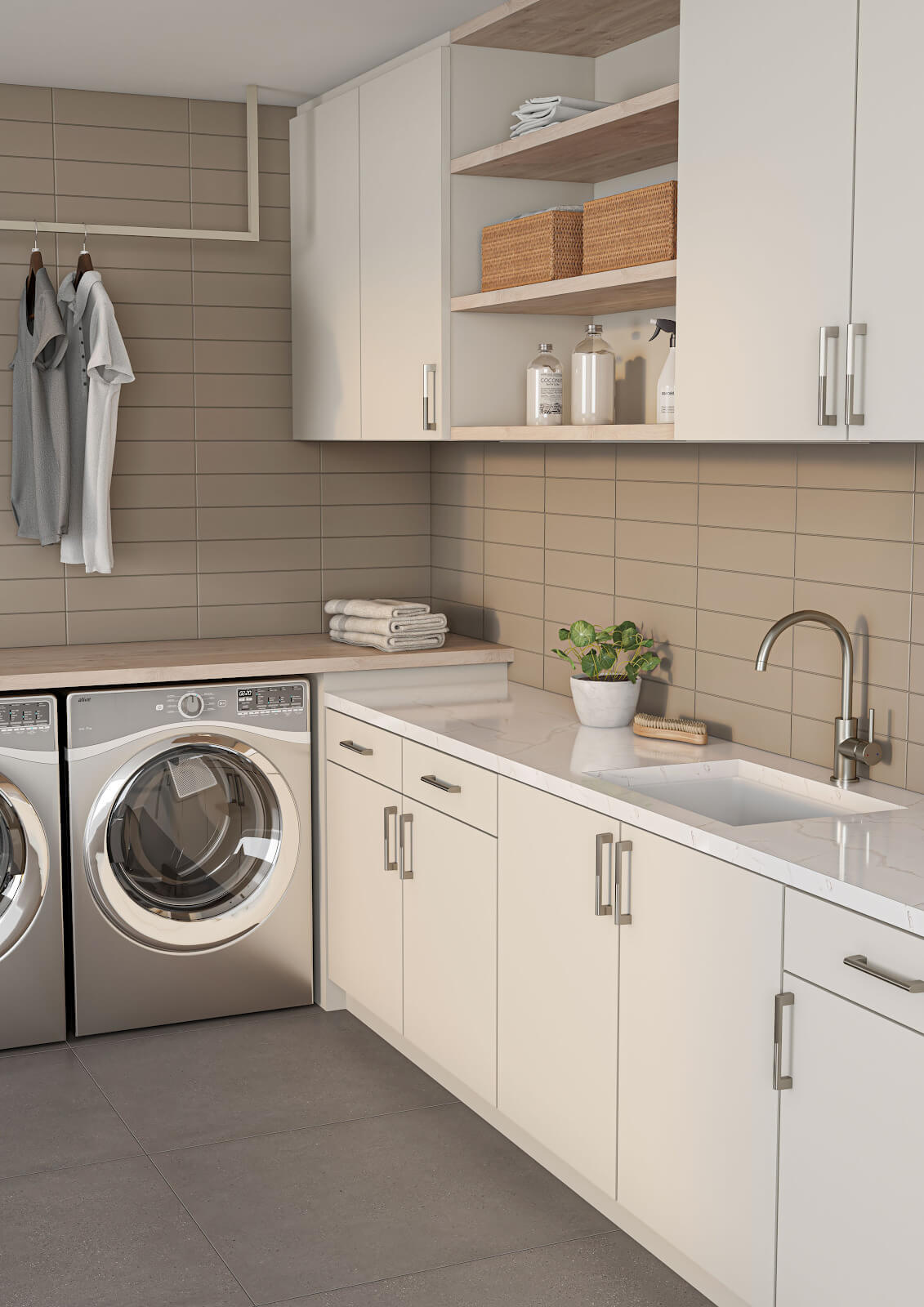 your guide to laundry room tile why tile