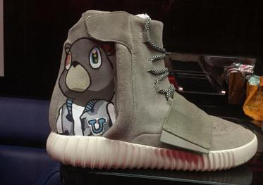 Adidas Yeezy Boost Customizes by Chris Brown_01