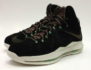 Nike Lebron X Ext QS Black Suede_17
