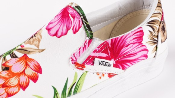 Vans Slip-On Hawaiian Floral White_05