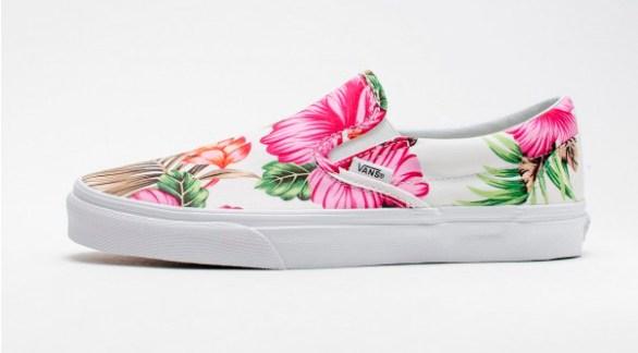 Vans Slip-On Hawaiian Floral White_07