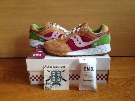 Saucony Shadow 5000 Burger x END_132