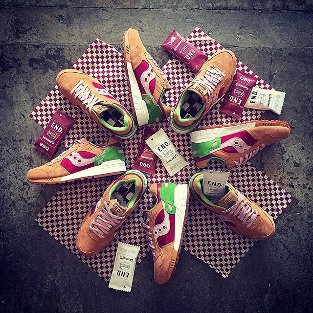 Saucony Shadow 5000 Burger x END_161