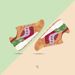 Saucony Shadow 5000 Burger x END_163
