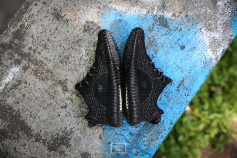 Adidas Yeezy Bost 350 Pirate Black _08