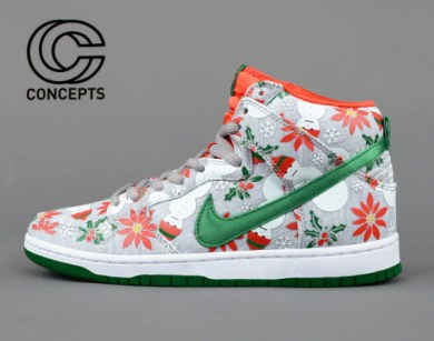 Nike SB Dunk Pro Ugly Christmas Sweater x Concepts_40