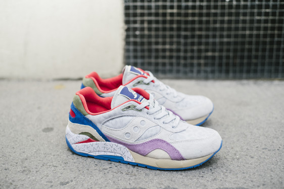 Saucony G9 Shadow 6 Pattern Recognition x Bodega_91