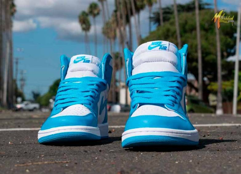 Air Jordan 1 High UNC Powder Blue_20